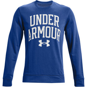 Under Armour Rival Terry Crew Long Sleeve Shirt Men, blu